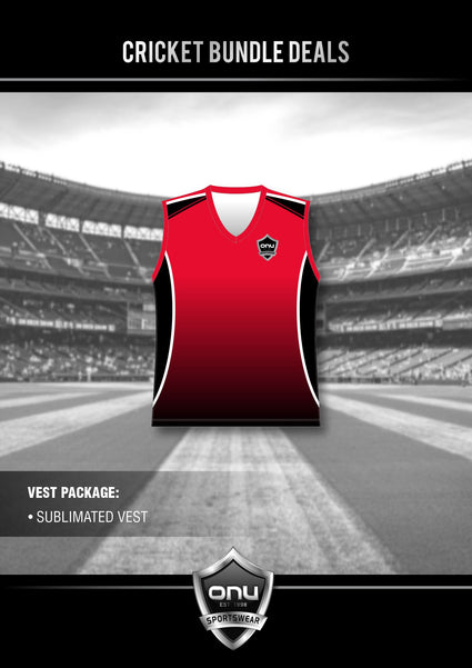 ONU CRICKET - PRO PLAYING CRICKET VESTS