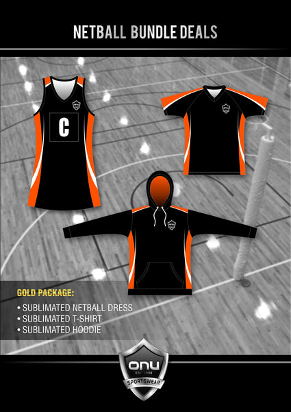 ONU NETBALL - GOLD PACKAGES