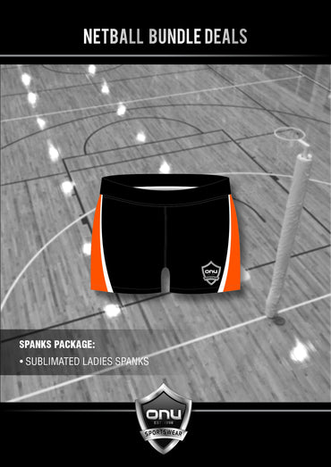 ONU NETBALL - SPANKS (TIGHTS) PACKAGES