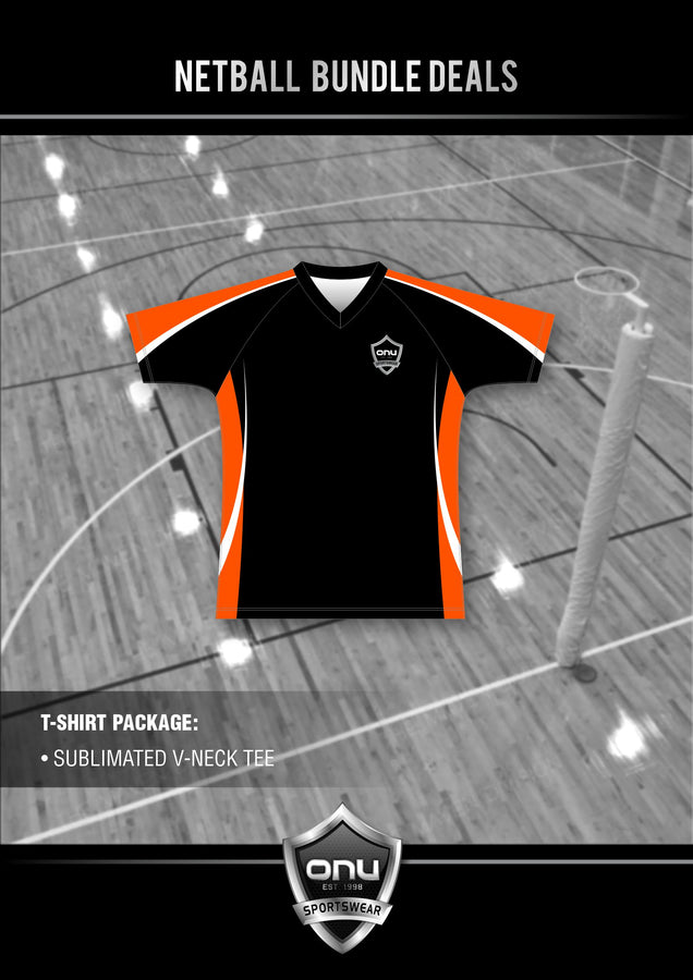 ONU NETBALL - TRAINING TEE PACKAGES