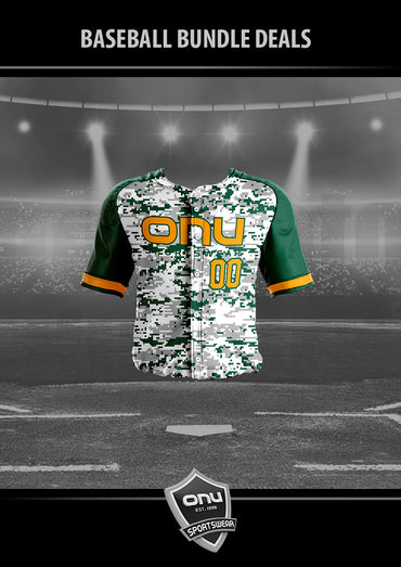 ONU BASEBALL - BUTTON DOWN BASEBALL JERSEY
