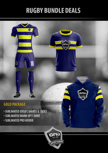 ONU RUGBY - GOLD PACKAGES