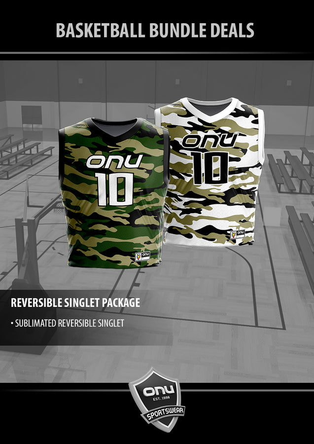 ONU BASKETBALL - REVERSIBLE SINGLET PACKAGE
