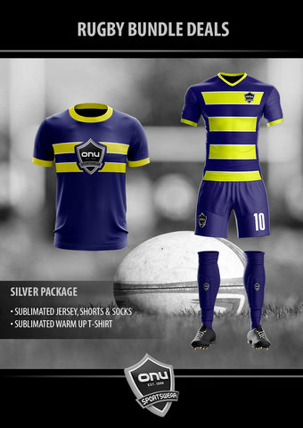ONU RUGBY - SILVER PACKAGES