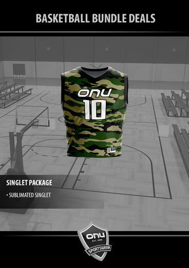 ONU BASKETBALL - SINGLET PACKAGE