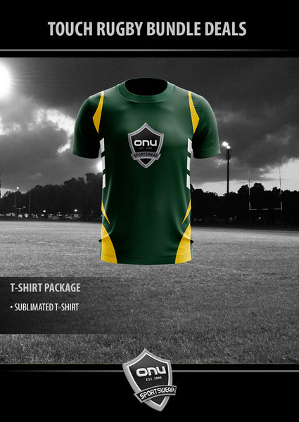 ONU TOUCH - TRAINING T-SHIRT PACKAGE