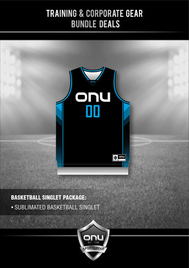 ONU TRAINING GEAR - BBALL SINGLETS PACKAGES