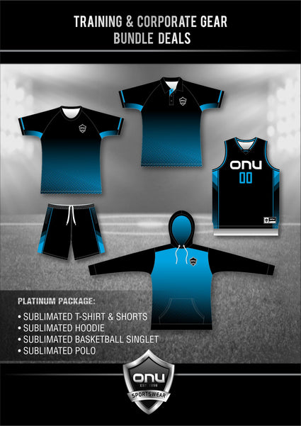 ONU TRAINING GEAR - PLATINUM PACKAGES