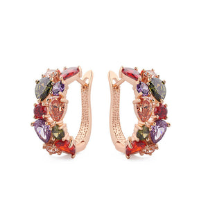 Colorful Stones Earrings