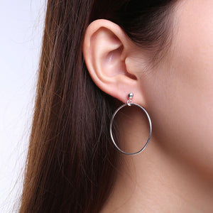 Circles Drop Earrings
