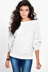 Batwing - White / L - Hoodies