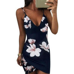 Bodycon Beach Bar - Blue / S - Dress