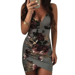 Bodycon Beach Bar - Gray / S - Dress