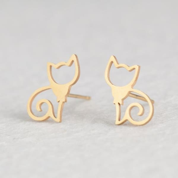 Cat - Earrings