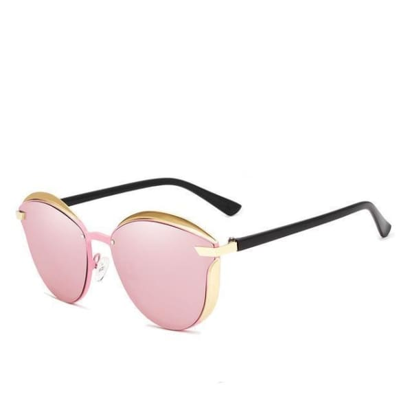 Cat Eye Polycarbonate - Pink - Sunglasses