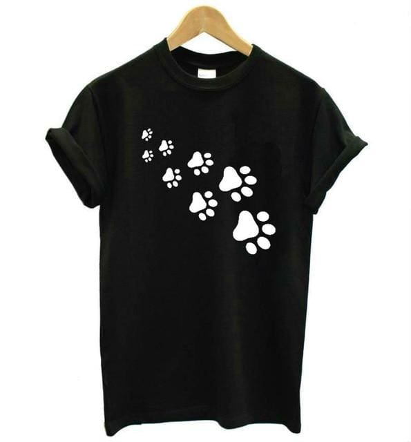 Cat Paws - Black / S - Shirts