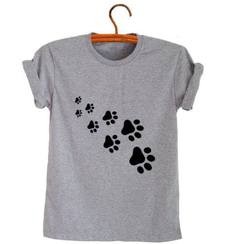Cat Paws - Gray Black / S - Shirts
