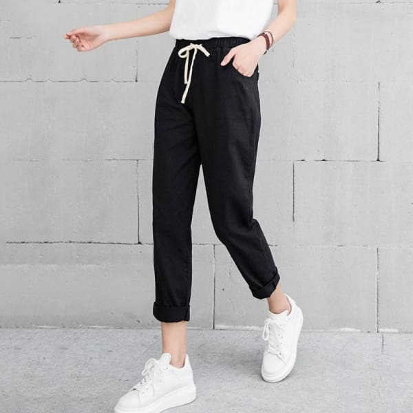 Cotton Pants - Bottomwomen