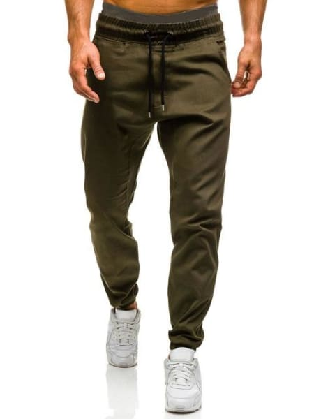 Diaz Men Joggers Pants - Green / Xl