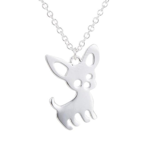 Dog Choker - Silver Plated - Necklace