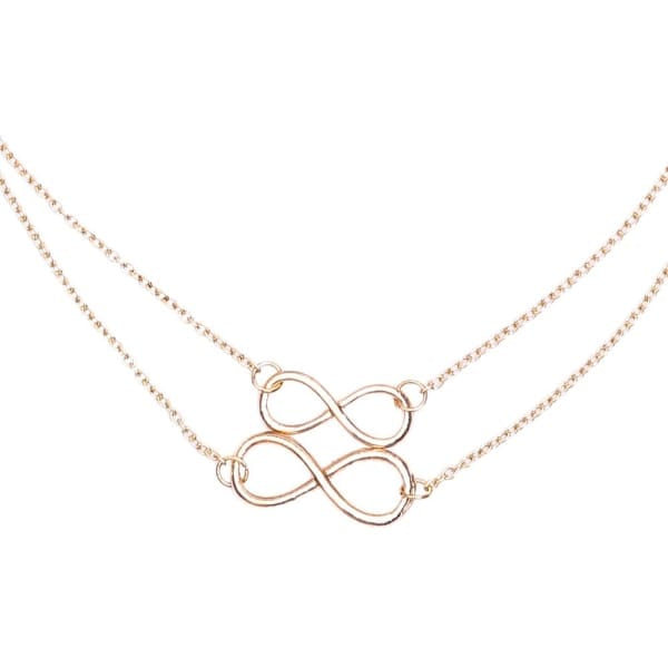 Double Infinity - Necklace