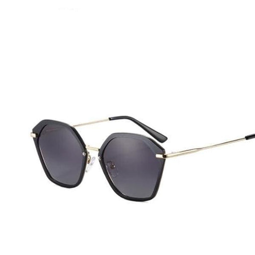 Fashion Cat Eye - Black - Sunglasses