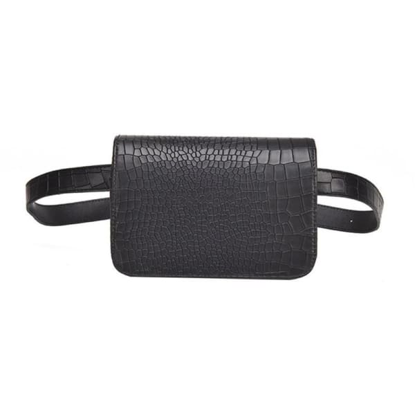 Flap Belt - Black - Beltbag
