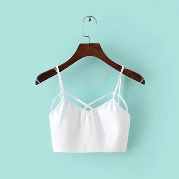 Hana Strappy - White / One Size - Wtops
