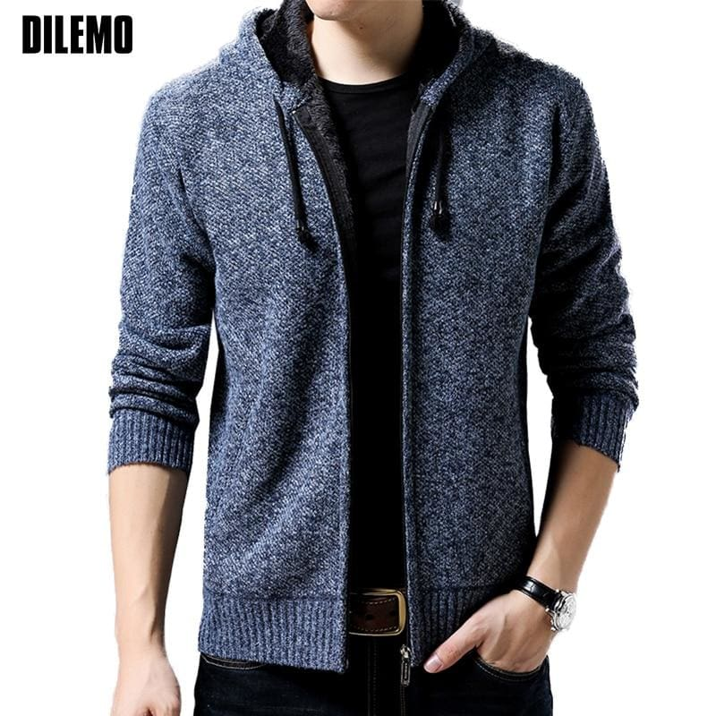 Hooded Coat - Men Jacket