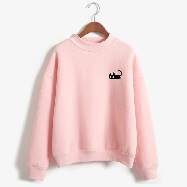 Ilayda Sweatshirt - Pink / Xl - Sweater