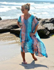 Kaftan Beach Sarongs - Bikini