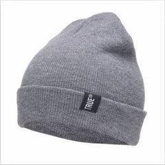 Knitted Hat - Gray - Hat