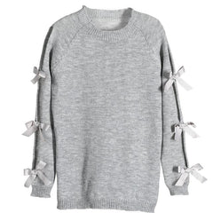 Long Sleeve Sweater - Gray / S - Sweater