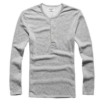 Military Casual - Light Flower Grey / S - Shirts