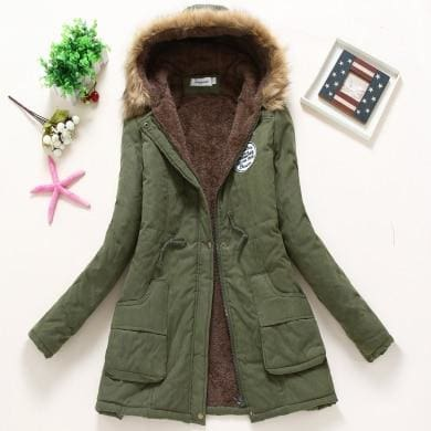 New Parka - Army Green / S - Jacket