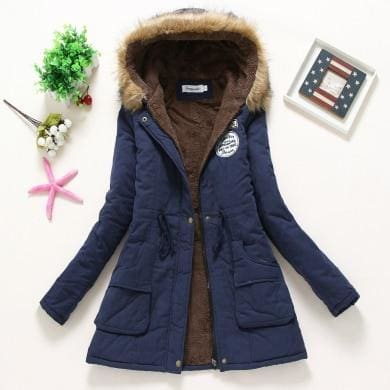 New Parka - Dark Blue / S - Jacket