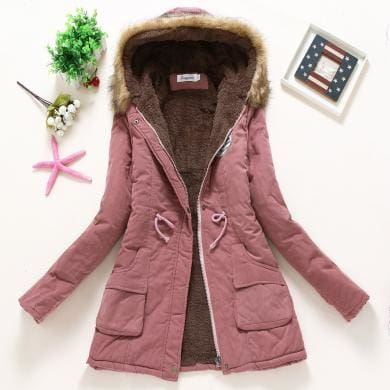 New Parka - Dark Pink / S - Jacket