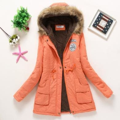New Parka - Orange / S - Jacket