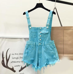 Playsuits - Sky Blue / S - Wtops