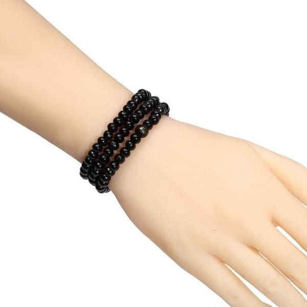 Prayer - 108 Black 6Mm - Bracelet