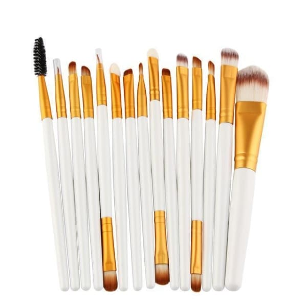 Professional 15/18Pcs Cosmetic Makeup Brush - Bj - Makeup