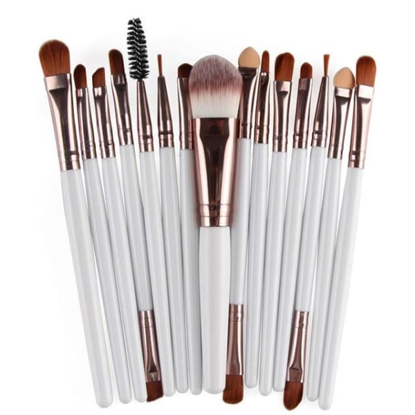 Professional 15/18Pcs Cosmetic Makeup Brush - Bk - Makeup