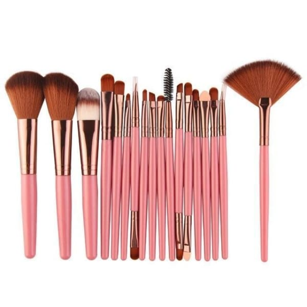 Professional 15/18Pcs Cosmetic Makeup Brush - Fk 1 - Makeup