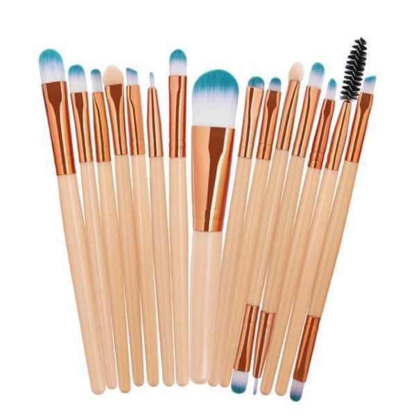 Professional 15/18Pcs Cosmetic Makeup Brush - Fmj - Makeup
