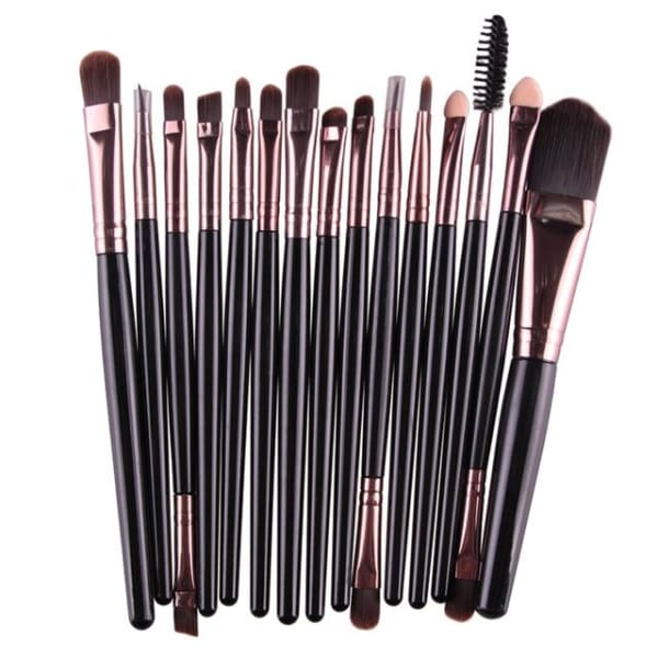 Professional 15/18Pcs Cosmetic Makeup Brush - Hk - Makeup