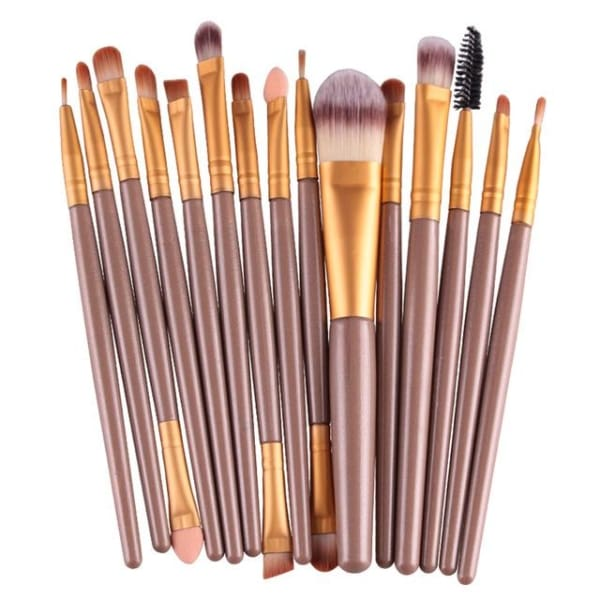 Professional 15/18Pcs Cosmetic Makeup Brush - Jj - Makeup