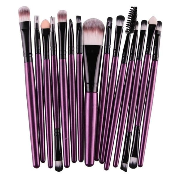 Professional 15/18Pcs Cosmetic Makeup Brush - Zh - Makeup