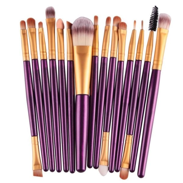Professional 15/18Pcs Cosmetic Makeup Brush - Zj - Makeup