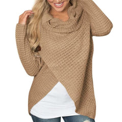 Pullover Sweater - Khaki / L - Sweater