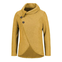 Pullover Sweater - Yellow / S - Sweater